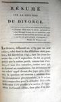 Louis Gabriel Bonald - Du divorce considere au XIX siecle - 1818