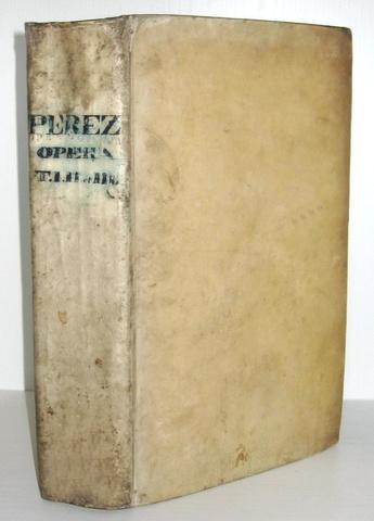 Antonio Perez - Opera omnia - 1783