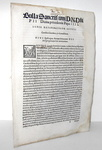 Bolla di papa Pio IV sulla Cancelleria Apostolica - Roma, Blado 1562