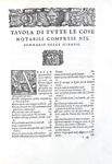 Una summa delle scienze: Alfonso de la Torre - Sommario di tutte le scientie - 1556 (prima edizione)
