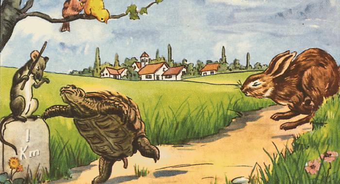 Esopo - La tartaruga e la lepre