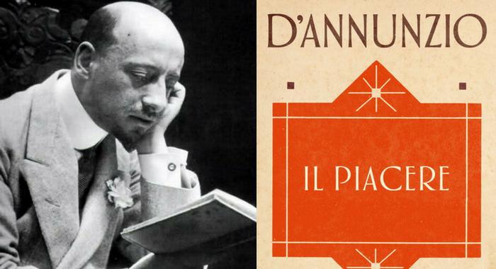 Gabriele D'Annunzio - Com'è debole e misera l'anima nostra
