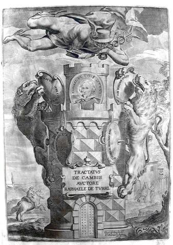 Commercio ed economia nel Seicento: Della Torre - Tractatus de cambiis - 1641 (rara prima edizione)