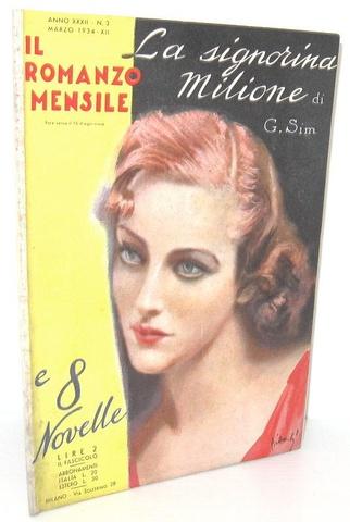 Georges Simenon - La signorina Milione - Milano 1934 (rara prima edizione italiana)