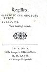 La Ragion di Stato nel Cinquecento:  Girolamo Frachetta - Il prencipe - Roma 1597 (prima edizione)