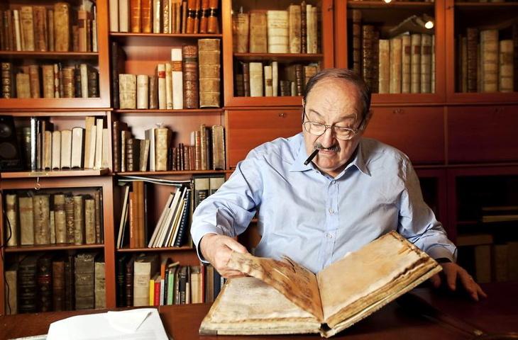 Umberto Eco - Il bene di un libro sta nell'essere letto