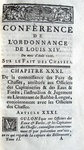 Code des chasses - 1753
