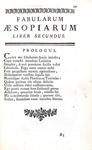 Le favole di Esopo: Aesopus - Fabularum Aesopiarum libri quinque - Paris 1756 (legatura coeva)