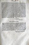 Costituzione di Pio V che disciplina le proprietà dell'Ordine francescano - Roma, Blado 1568