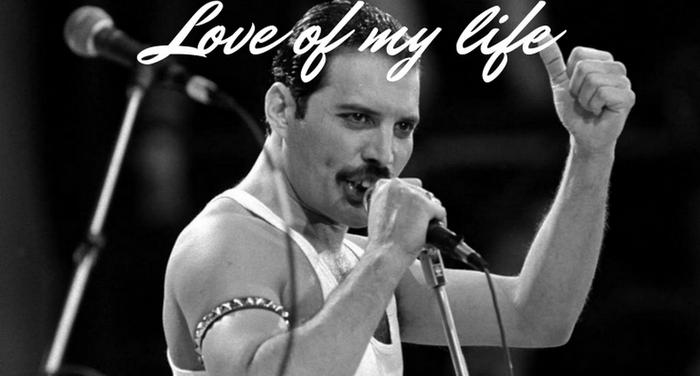 Love of my life di Freddie Mercury (Carlo Picca)