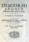 Relazioni storiche Piemonte-Santa Sede - 1731