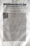 Blado: bolla di Pio IV sulla Camera Apostolica