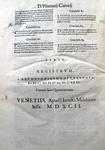 Vincentius Carocius - Tractatus locati et conducti - 1592