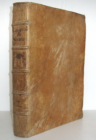 Leotardus - Liber singularis de usuris et contractibus usurariis coercendis - 1701