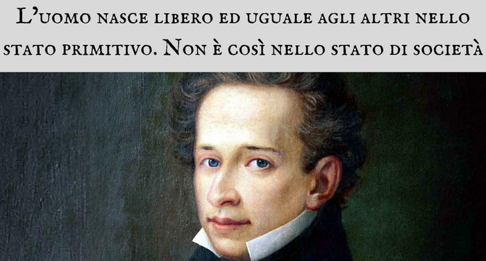 Giacomo Leopardi - L?uomo nasce libero ed uguale agli altri