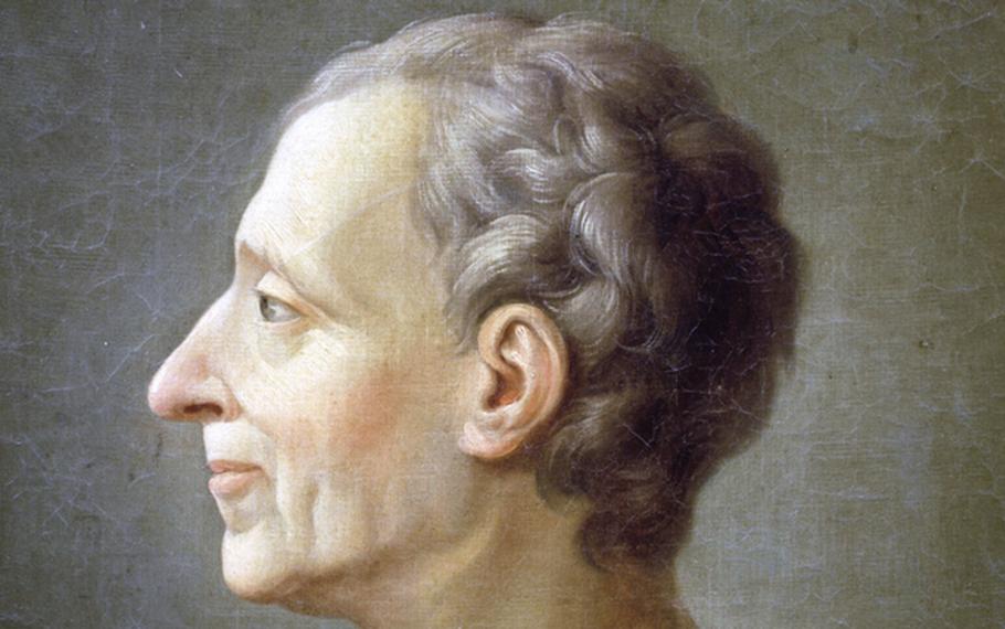 Montesquieu - L'ambizioso spasima di gioia al primo onore che raggiunge