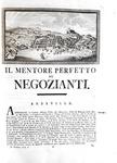 Andrea Metrà - Il mentore perfetto dei negozianti - Trieste 1793 (5 volumi - rara prima edizione)