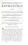 Adam Smith - Recherches sur la nature et les causes de la richesse des nations - Paris 1800 (raro)
