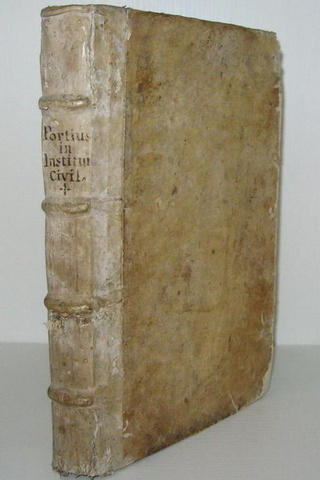 Cristoforo Porzio - In tres priores Institutionum libros commentarii - 1591
