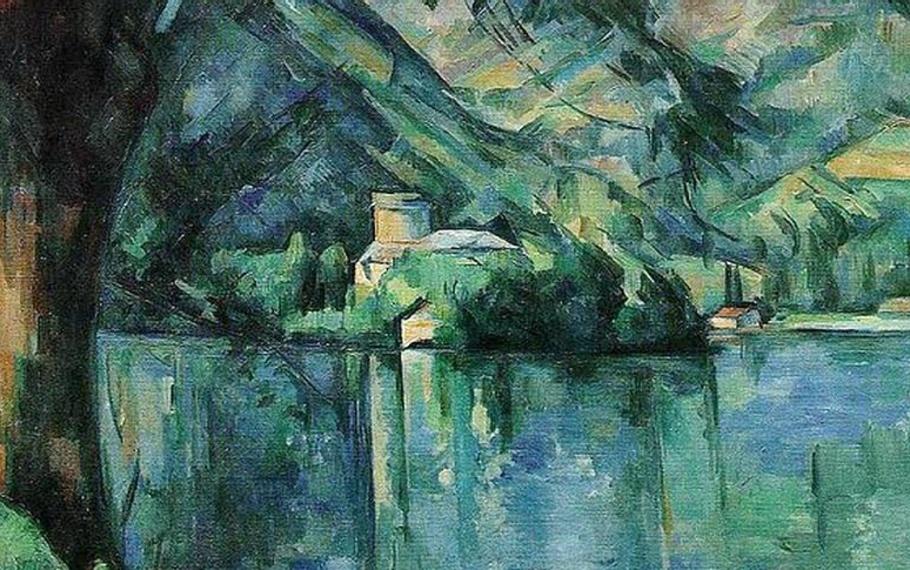 Eugenio Montale - Il lago di Annecy
