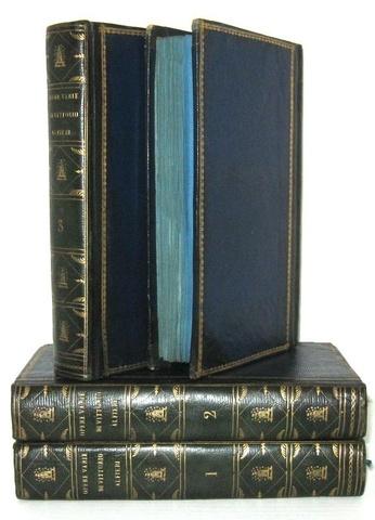 Vittorio Alfieri - Opere varie filosofico-politiche - Parigi 1800 (prima edizione in carta azzurra)