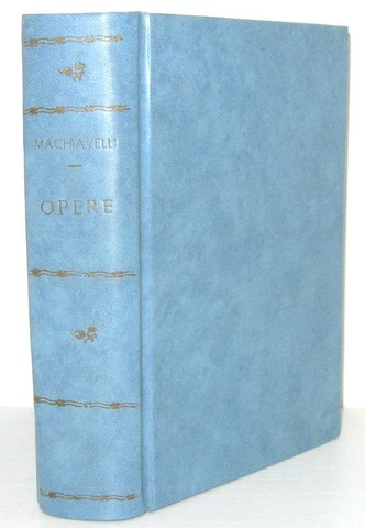 Niccolo Machiavelli - Opere minori (storiche, letterarie e teatrali) - Le Monnier 1852