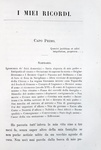 Un classico del Risorgimento: Massimo D'Azeglio - I miei ricordi - Firenze 1867 (prima edizione)