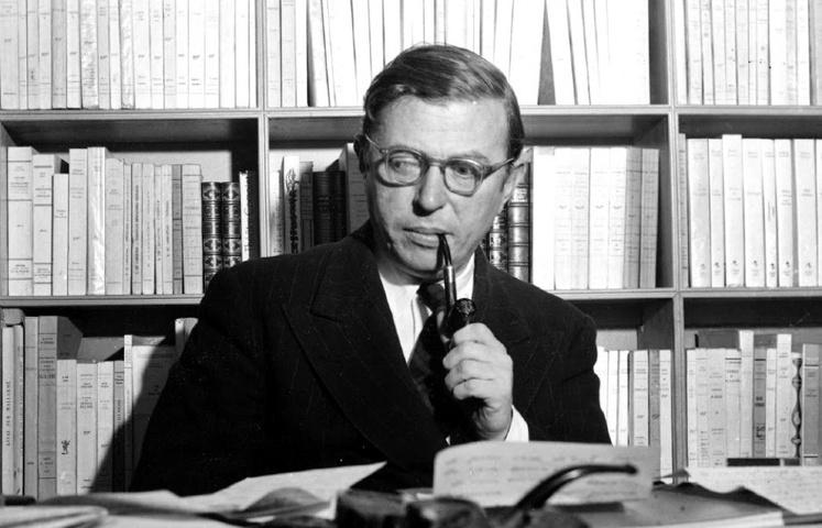 Jean-Paul Sartre - Nei libri ho incontrato l'universo