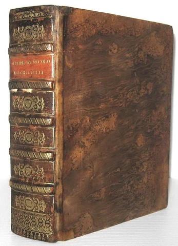 La celebre 'edizione della Testina': Niccolò Machiavelli - Tutte le opere - 1550 (ma circa 1628)