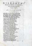 Medicina e astronomia nel cinquecento: Girolamo Fracastoro - Opera omnia - Venetiis 1574