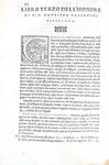 La scienza cavalleresca nel Cinquecento: Possevino - Dialogo dell'honore - 1553 (prima edizione)
