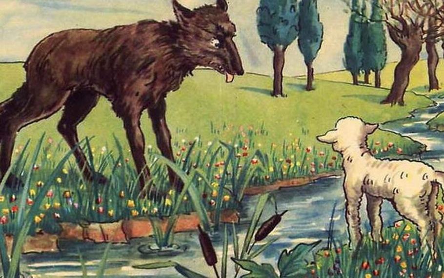 Esopo - Il lupo e l'agnello