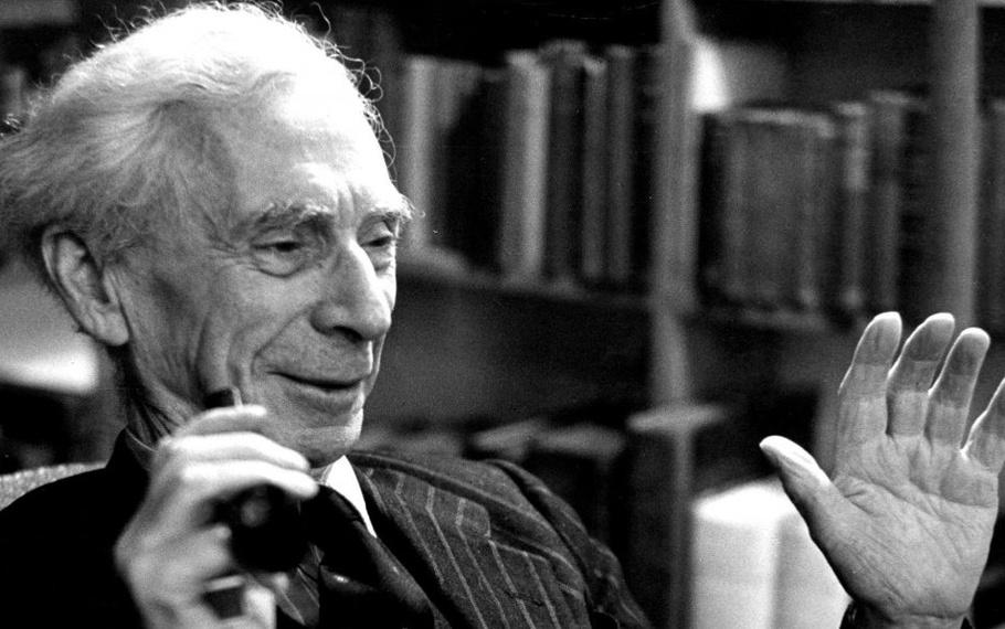Bertrand Russell - Gli uomini si portano a letto le loro preoccupazioni