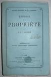 Proudhon - Theorie de la propriete