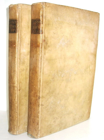 Francois Connan - Commentariorum juris civilis libri X - 1724