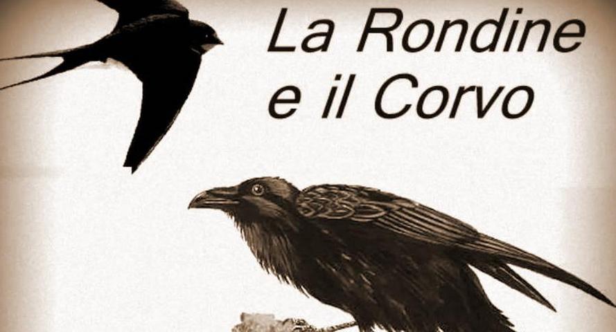 Esopo - La rondine e il corvo