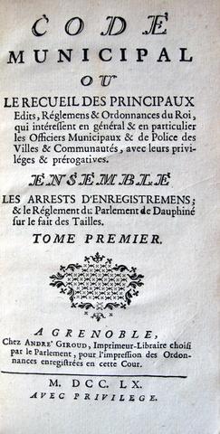 Code municipal
