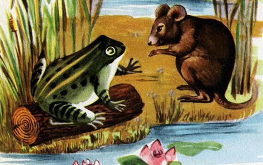 Esopo - Il topo e la rana