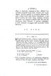 Della Stufa - Per le nozze tra Isabella di Parma e l'imperatore Giuseppe II - 1761 (prima edizione)