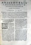 Toledo - Commentaria in universam Aristotelis logicam - 1576