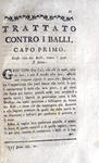 Gauthier - Trattato contro i balli e le cattive canzoni - 1787