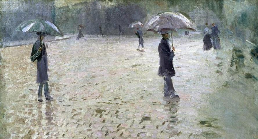 Eugenio Montale - Piove