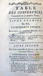 Conferences ecclesiastiques de Paris sur l'usure