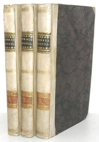 Louis Gabriel de Bonald - La legislazione primitiva - Modena 1818 (rara prima edizione italiana)