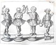 Le classici sociali nell'antica Roma: Lorenzo Pignoria - De servis - 1674 (con 16 bellissime tavole)