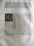 Moto proprio di Pio V sulla riforma dei tribunali fiscali - Roma, Blado 1568 ca.