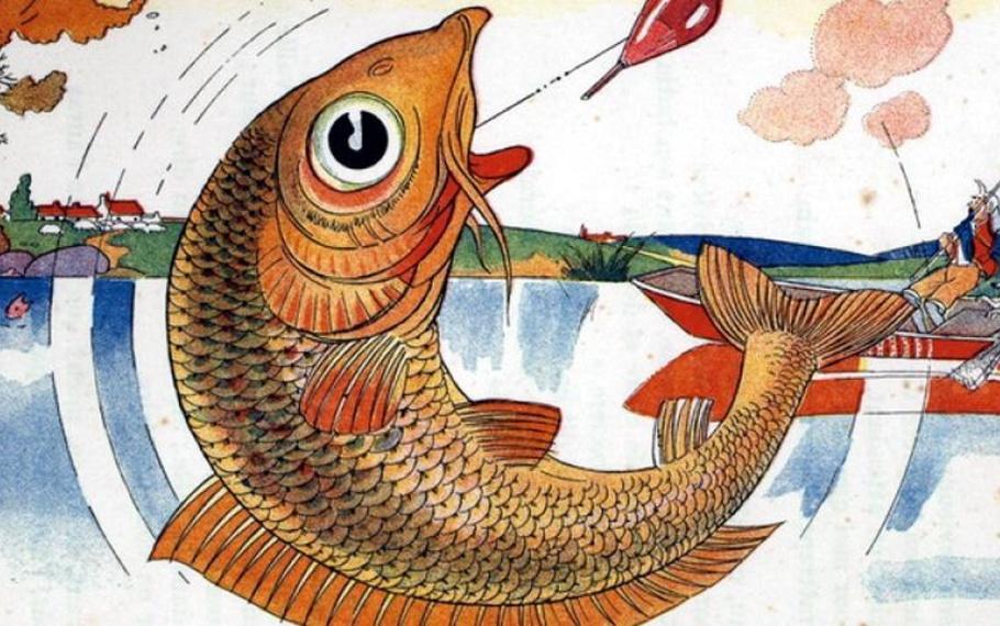 Esopo - Il pescatore e il pesciolino