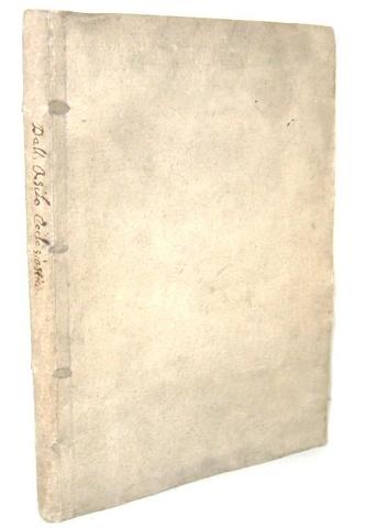 Il diritto d'asilo nel Settecento: Francesco d'Aguirre -Discorso sopra l?asilo ecclesiastico - 1763