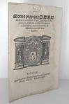 Moto proprio di Pio IV che disciplina i benefici ecclesiastici - Roma, Blado 1563