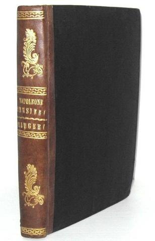 Napoleone - Massime e pensieri del prigioniere di Sant-Elena - Napoli 1820 (prima edizione italiana)